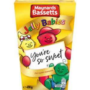 Bassett's Bassetts Jelly Babies Carton