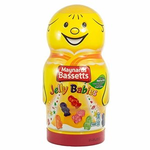 Bassett's Bassetts Jelly Babies Character Jar - Yellow