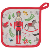 Nutcracker Potholder