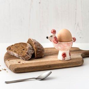 Hannah Turner Hannah Turner Poodle Egg Cup Pink