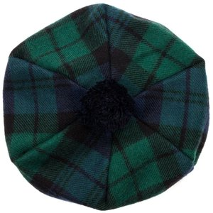 Lochcarron Brushwool Black Watch Tam