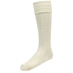 Kilt Hose Size Small White