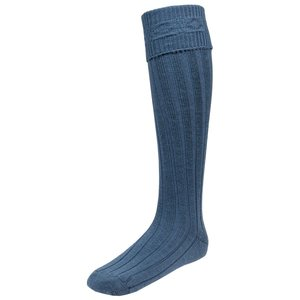 Ancient Blue Size Large Kilt Hose