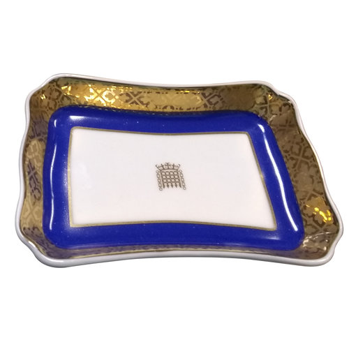 Crown Porcelain House of Lords Pin Tray