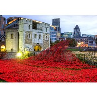 Wentworth Wooden Puzzle Tower of London Remembrance 500 Pieces