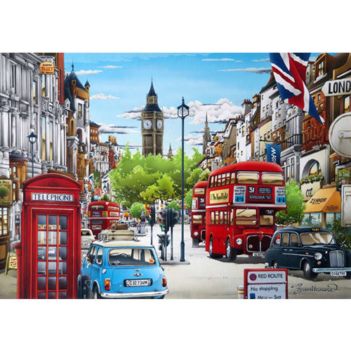 Wentworth Wooden Puzzles SW1 Whitehall Jigsaw Puzzle - 250pc.