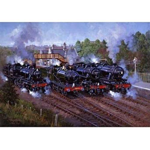 Wentworth wentworth wooden puzzles severn valley railway 250 pc.