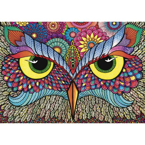 Wentworth Wooden Puzzles It's a hoot Jigsaw Puzzle - 500 pc.