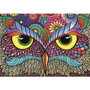 Wentworth Wooden Puzzles It's a hoot Jigsaw Puzzle -250 pc.