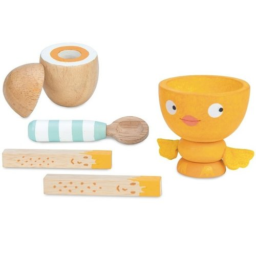 Le Toy Van Le Toy Van Wooden Egg Cup Set