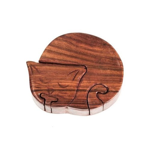 Matr Boomie Cat Puzzle Trinket Box