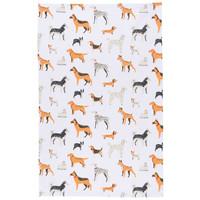 Now Designs Dog Tea Towel