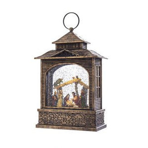 Kurt Adler Snowglobe Nativity