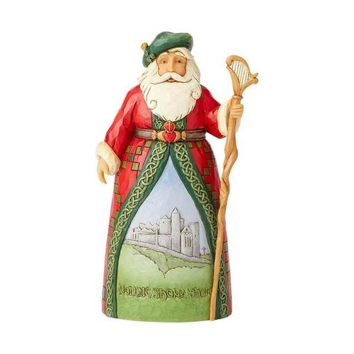 Jim Shore Irish Santa Hanging Ornament