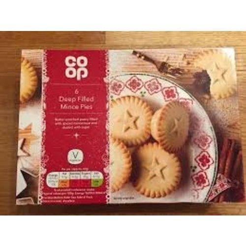 Co-Op 6 Mini Mince Pie's