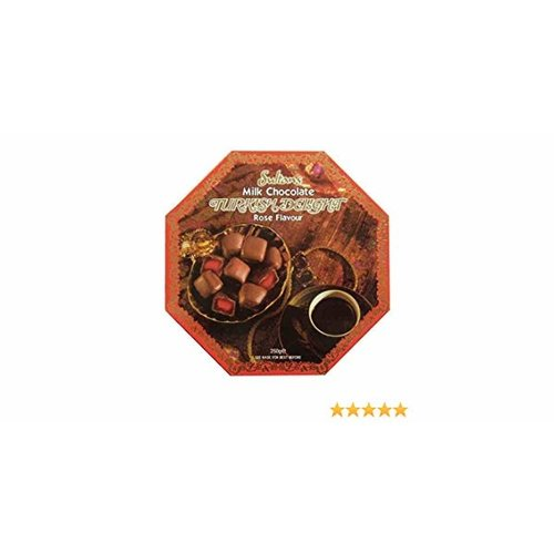 Sultans Sultans Milk Chocolate Rose Flavored Turkish Delight 200g