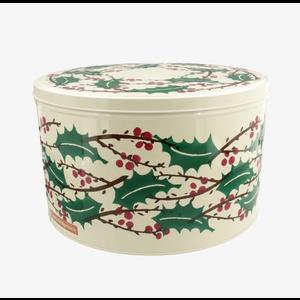 Emma Bridgewater Round Winter Berries Tin Large