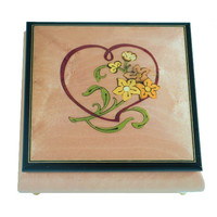 Splendid Music Box Square with Heart