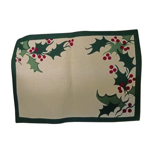 Reversible Cotton Christmas Placemat