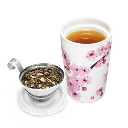 Tea Forte Hanami Cup w/ Saucer
