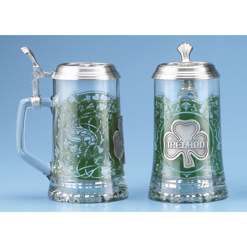 Glass Ireland Stein