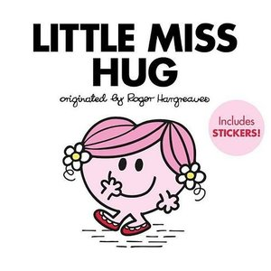 Little Miss Hug Hardcover Book W/ Stickers