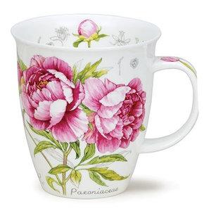 Dunoon Nevis Botanical Sketch Peony Mug