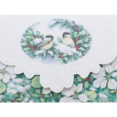 Boxed Christmas Cards Chickadees