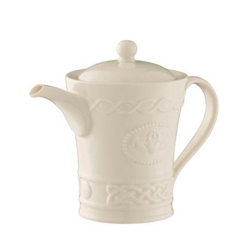 Belleek Belleek Claddagh Beverage Pot