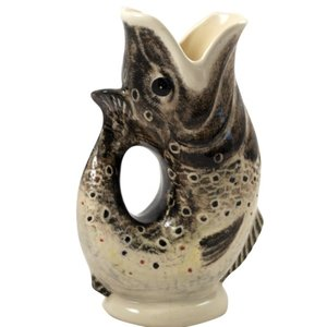 Babbacombe Pottery Brown Trout Large Jug