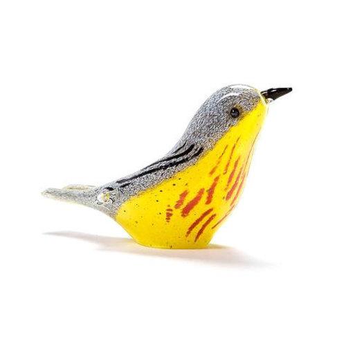 Langham Glass Langham Glass Yellow Warbler