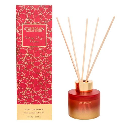 Stoneglow Stoneglow Nutmeg, Ginger & Spice Reed Diffuser