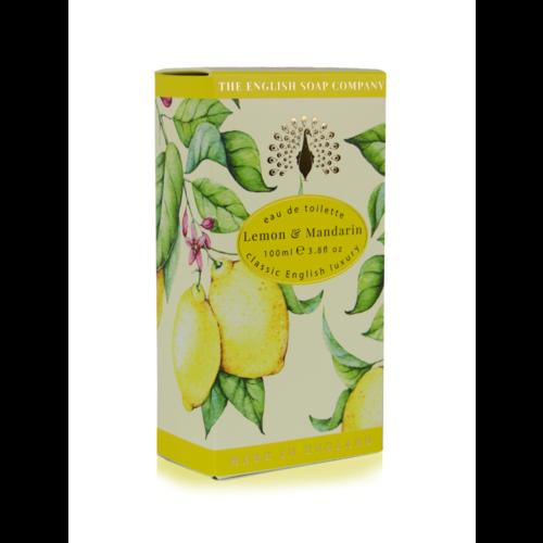 The English Soap Company Lemon & Mandarin Eau de Toilette