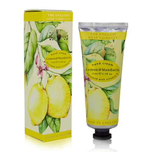 The English Soap Company Lemon & Mandarin Hand Cream