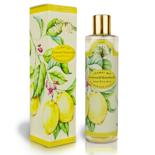 The English Soap Company English Soap Company Lemon & Mandarin Shower Gel 300ml