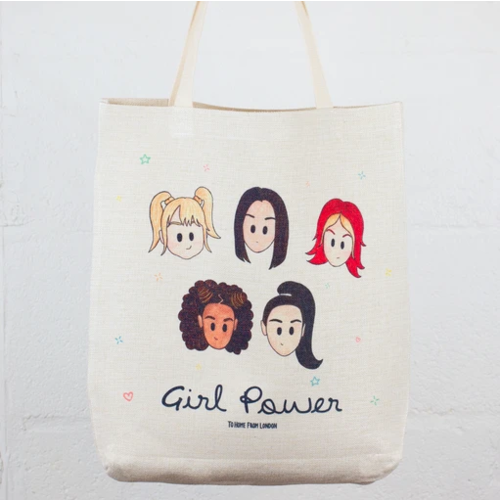 To Home From London Spice Girls Tote Bag