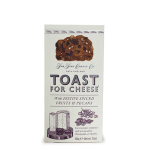 The Fine Cheese Company The Fine Cheese Co Toast with Festive Spiced Fruits and Pecans