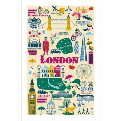 Ulster Weavers Ulster Weavers London Calling Cotton Tea Towel