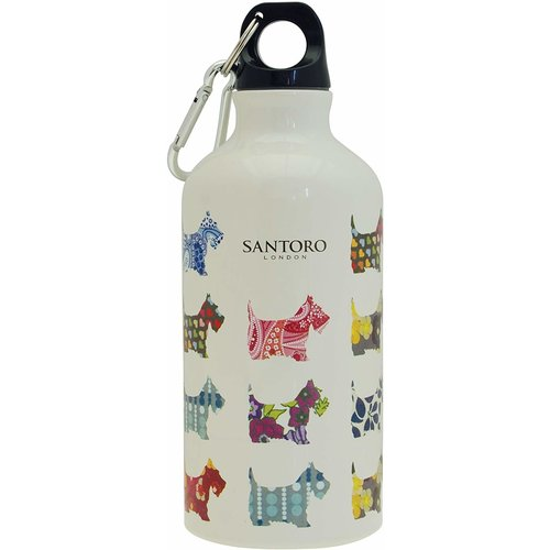 Santoro London Santoro Water Bottle Scottie Dog