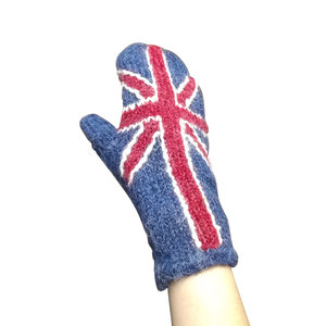 Peruvian Trading Co. Union Flag Mittens