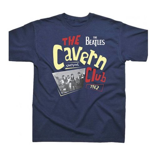 Spike Leissurewear The Beatles Cavern Club 1962 Navy T-Shirt XL