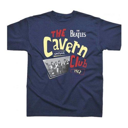 Spike Leissurewear The Beatles Cavern Club 1962 Navy T-Shirt XL