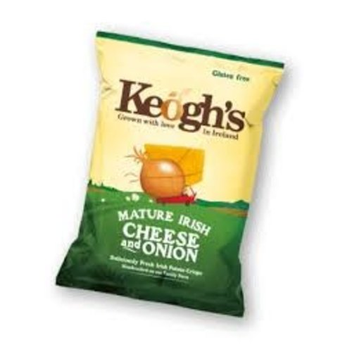 Keogh's Keoghs Dubliner Irish Cheese and Onion Crisps 125g
