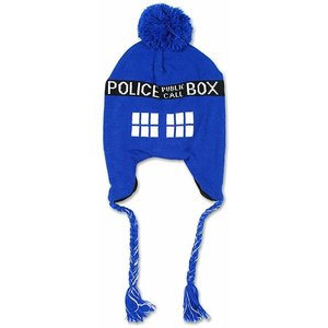 TARDIS Bobble Hat