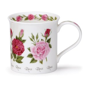 Dunoon Bute Summer Flowers Rose Mug