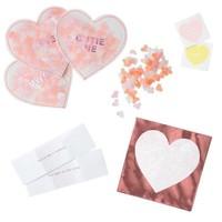 Love Heart Favors Set of 8