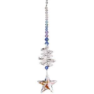 Crystal Brilliance Cascade Evening Star Suncatcher
