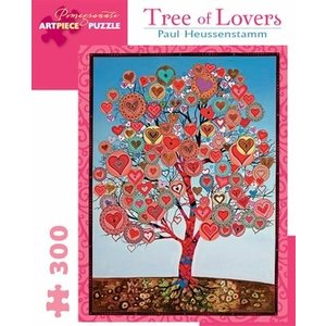Pomegranate Tree of Lovers 300 Piece Puzzle