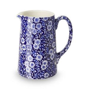 Burleigh Pottery Calico Blue Medium Tankard Jug