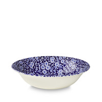 Calico Blue Pudding/Soup Bowl